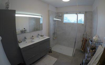 Renovation d'une salle de bain à Breteuil 60120