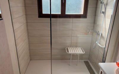 Adaptation d'une salle de bain PMR à Ailly sur Noye 80250