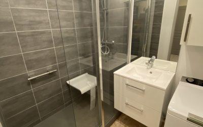Adaptation d'une salle de bain pour personne senior à Amiens 80000