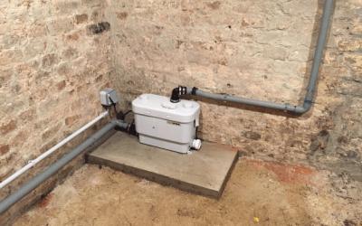 Installation d'une pompe de relevage à Ailly sur Noye 80250