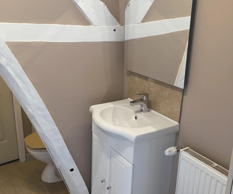 Création d'une salle de douche sur un palier à Montdidier 80500