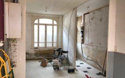 Ouverture de mur dans une maison sur Amiens 80000