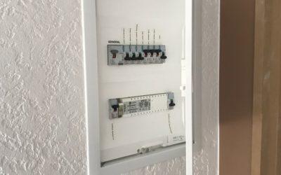 Installation d'un tableau électrique encastré à Ailly sur Noye 80250