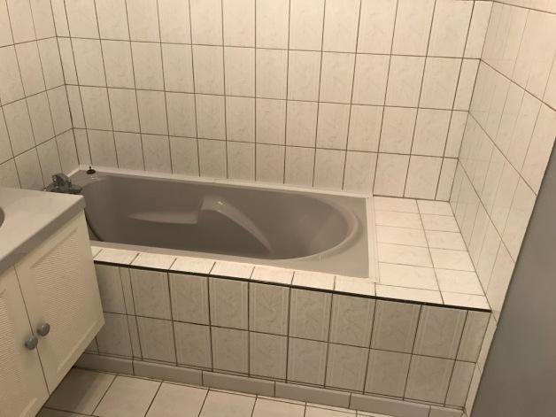 Dégât des eaux avec remplacement de baignoire