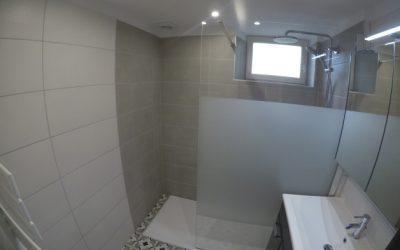 Rénovation d'une salle de douche avec agrandissement à Breteuil 60120