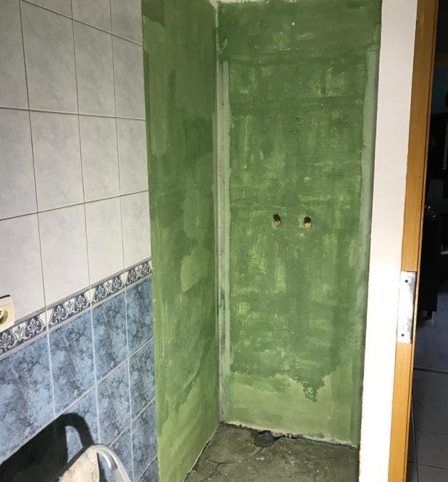 Dégât des eaux dans une douche à Moreuil 80110